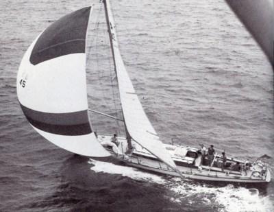 Fidelis beim Sydney - Hobart Race 1966 © Cruising Yacht Club of Australia