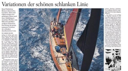 Knud Reimers portait in german newspaper 2010