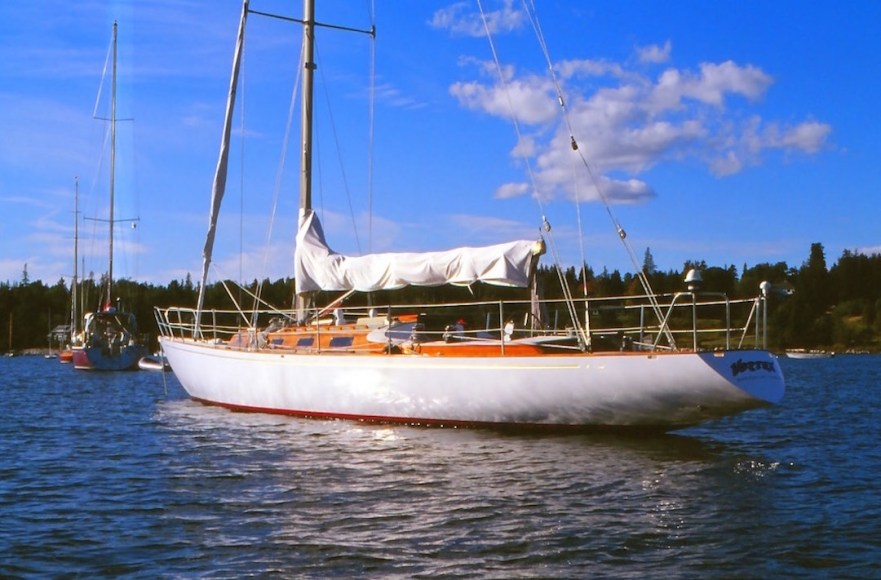 Swede 55 replica Vortex in Brookin/Maine © Erdmann Braschos