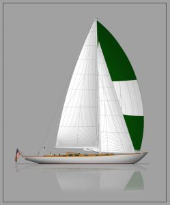 Joel White Design # 50 © Brooklin Boat Yard