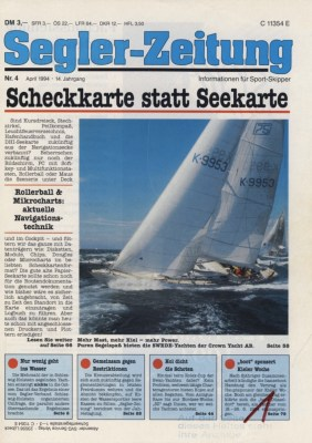 Swede 75 Promotion in der Seglerzeitung 1994