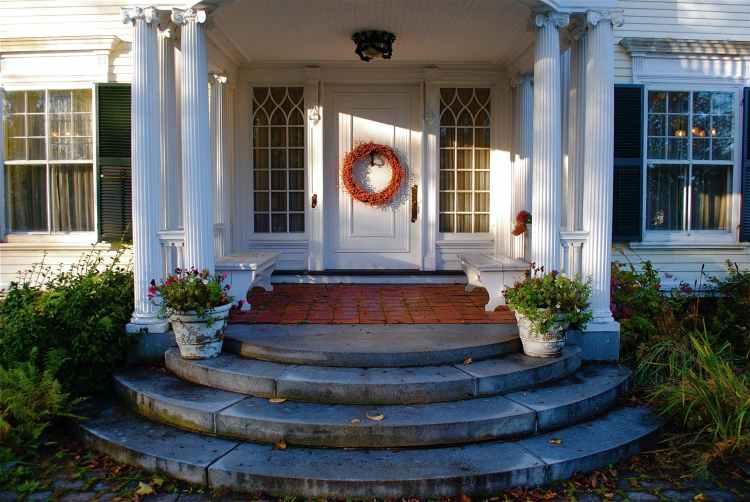 Entry, front door