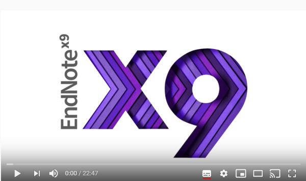 EndNoteVideoScreenshot