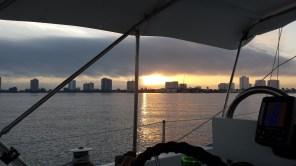Palm Beach sunrise.