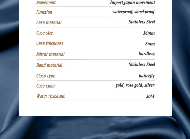 Water-resistant ratings of watches