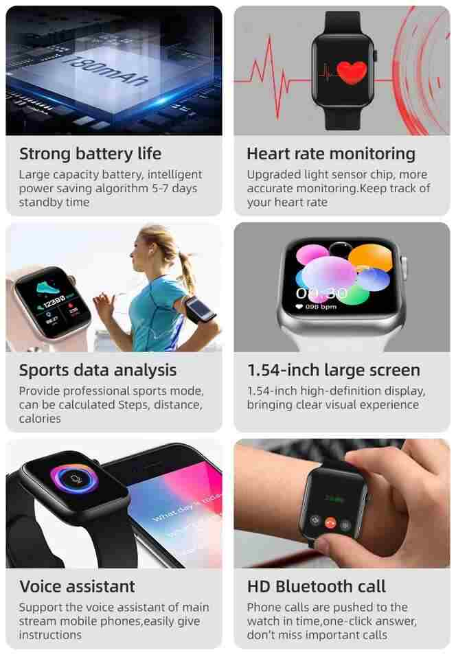 Touch Screen Smartwatch 6