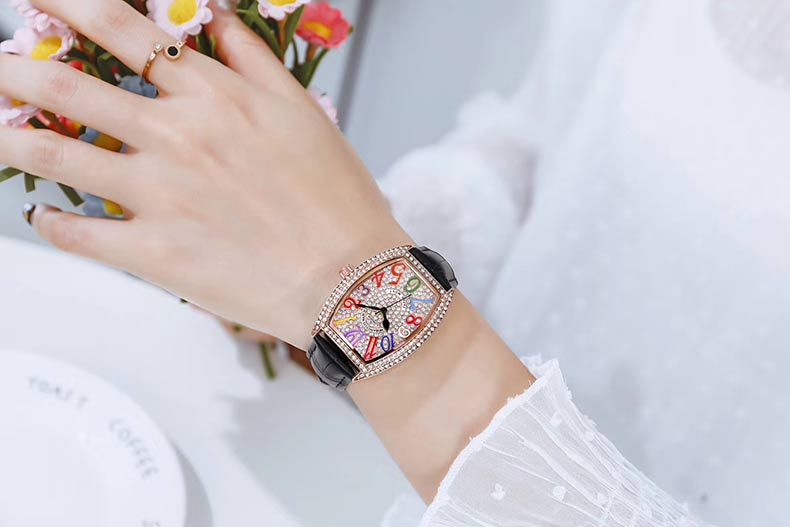 Ladies Oval Watch 13