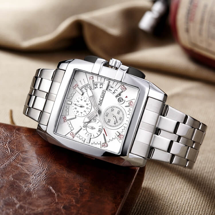 Stainless Steel Chronograph Watch 2