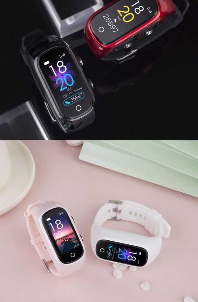 Smartwatch With Built In Earbuds 8