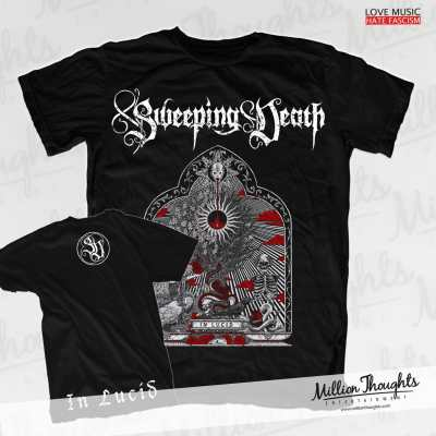 Sweeping Death T-Shirt Merchandise In Lucid