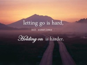 Letting Go Letting Be