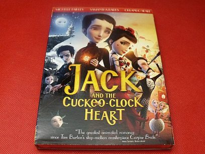 Jack and the Cuckoo-Clock Heart DVD