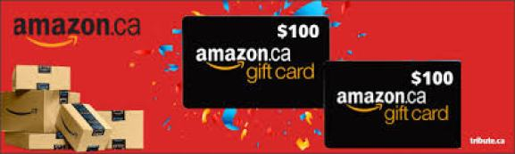Tribute Amazon $100 Gift Card Contest