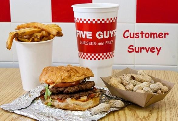 Five Guys Customer Survey