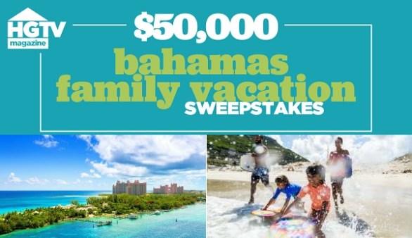 Bahamas Family Vacation Sweepstakes