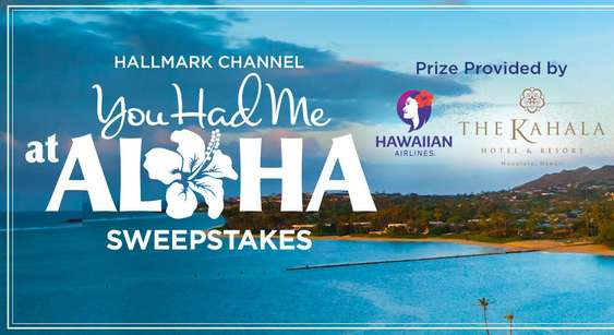 Hallmark Channel Hawaii Sweepstakes 2021