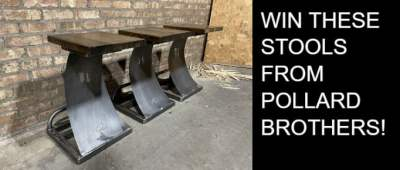 Pollard Brothers Stool Giveaway – Chance To Win Concept Stools