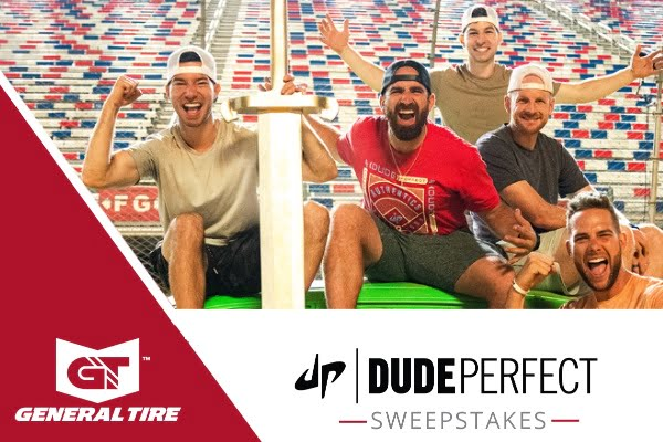 Sweepstakes for General Tire Dude Perfect