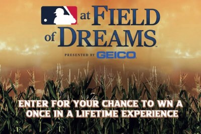 MLB Field of Dreams Experience Sweepstakes