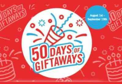 The Brick 50 Days of Giftaways Giveaway