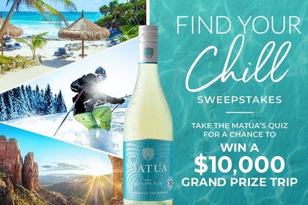 Find Your Chill Sweepstakes