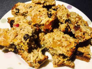 Health Fruity Flapjacks