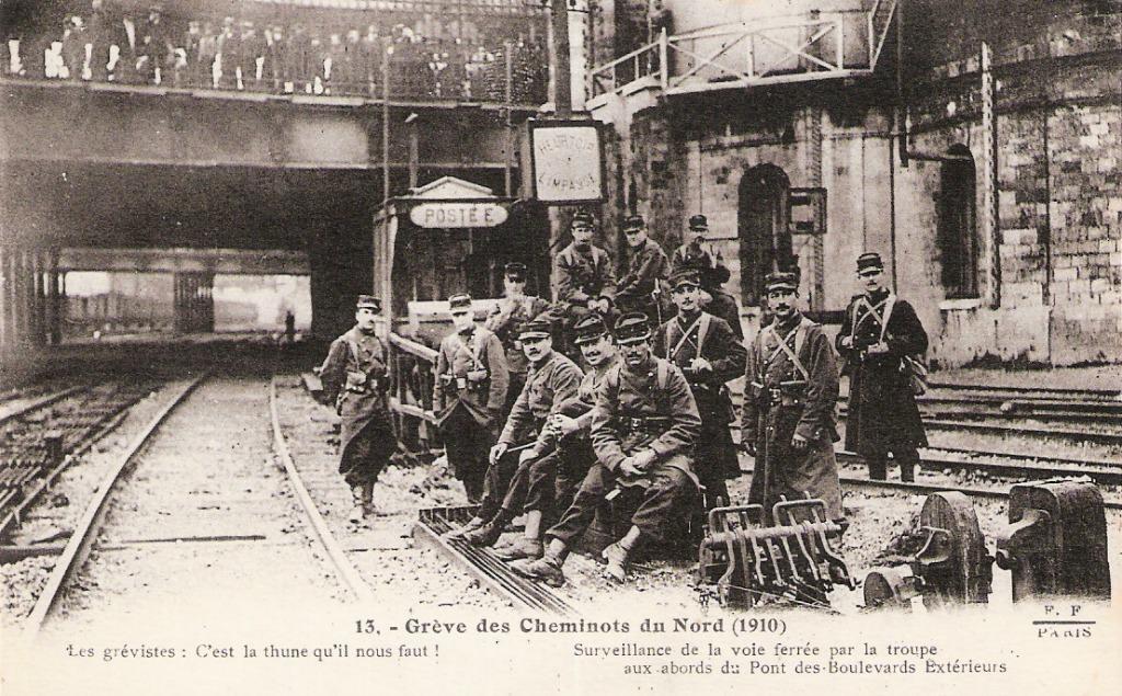 La grève des cheminots