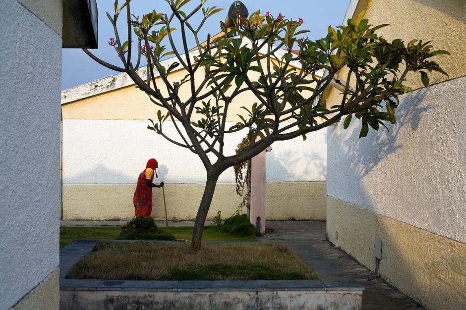 Le village des vieux en Inde
