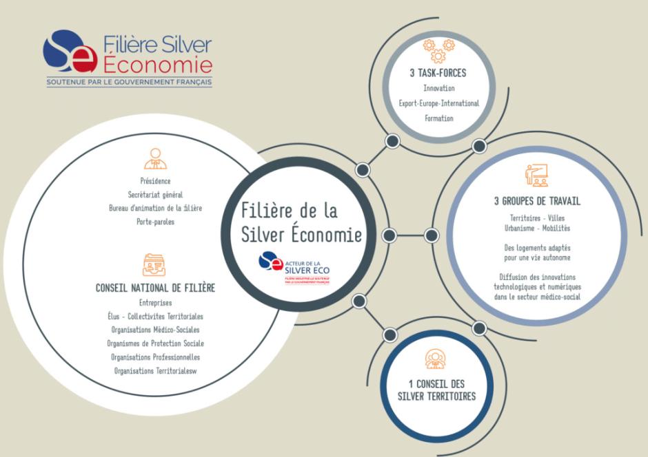 Comment fonctionne la filière Silver économie