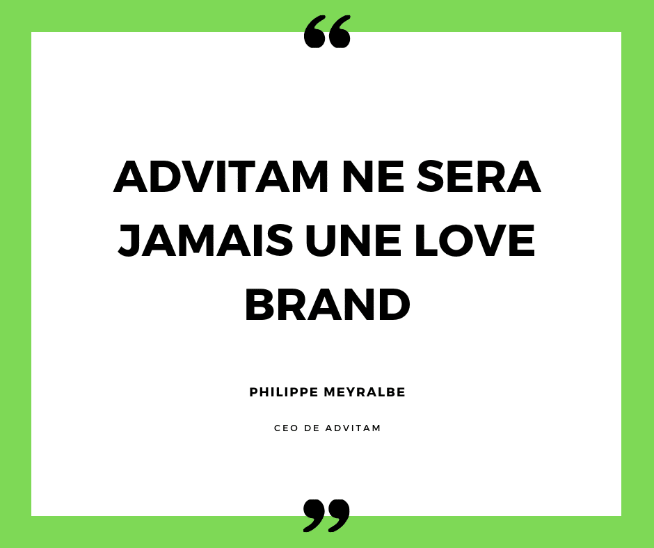 advitam ne sera jamais une love brand