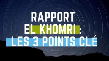 Rapport El Khomri 3 points clé