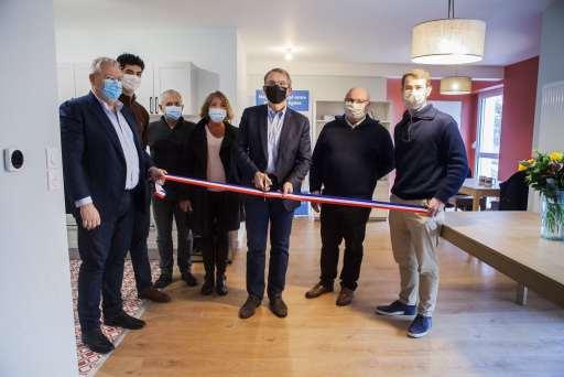 Inauguration habitat collectif Pessac