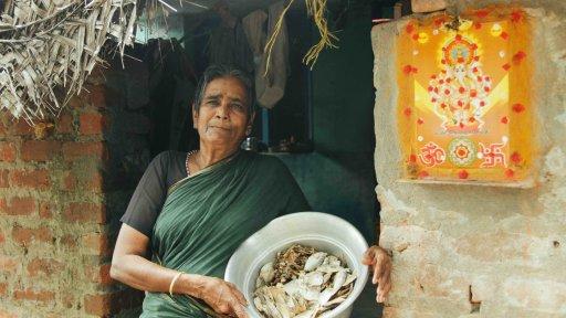 Village Tamaraikulam en Inde