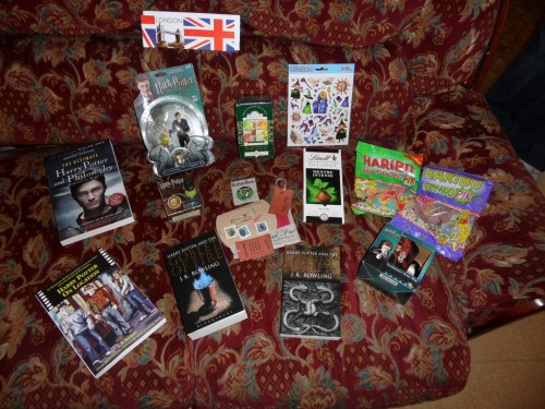 swap harry potter,sorting swap,colis