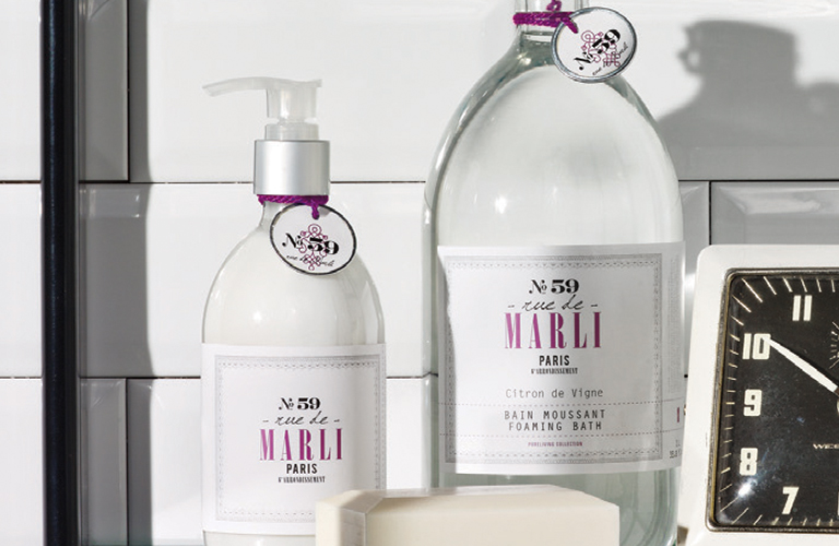 Rue de Marli No. 59 | Foaming Bath and Hand Lotion
