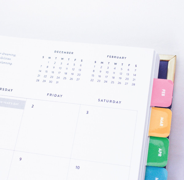 Emily Ley Simplified Planner - Month Overview Page