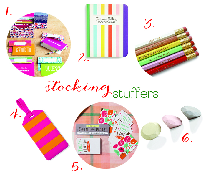Stocking Stuffers Blog Post