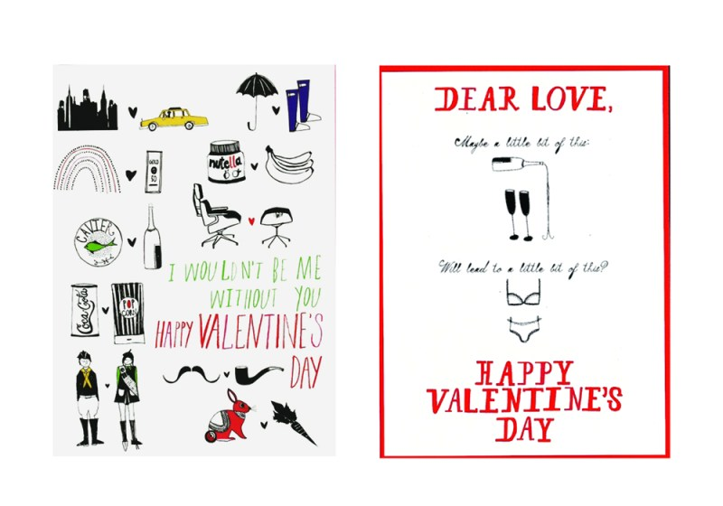 Perfect Pairs Valentine's Day Card and Dear Love Happy Valentine's Day Card by Mr. Boddington's Studio