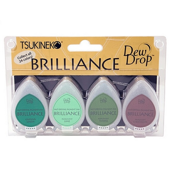 Brilliance Dew Drop Ink Pads: Tree House