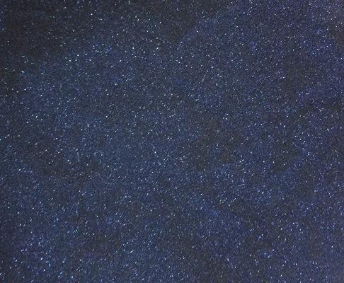 Sweet Poppy Stencil: Satin Glitters Canadian Blue