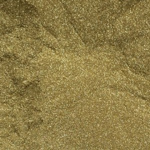 Sweet Poppy Stencil: Satin Glitters Soft Gold