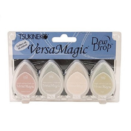 Versamagic Dew Drop Ink Pads: Four Corners