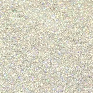 Sweet Poppy Stencil: Satin Glitters Silver Holographic