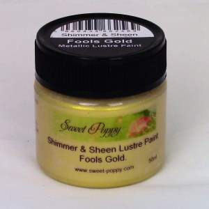 Shimmer & Sheen Lustre Paints: Fools Gold