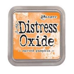 Distressed Oxide: Carved Pumpkin