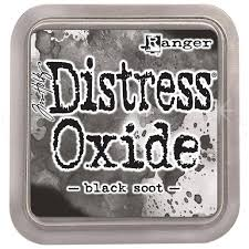 Distressed Oxide: Black Soot