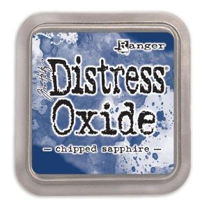 Distressed Oxide: Chipped Sapphire