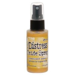 Distress Oxide Spray – Fossilized Amber