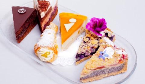 Vegane Tortenauswahl von Sweet Retreat