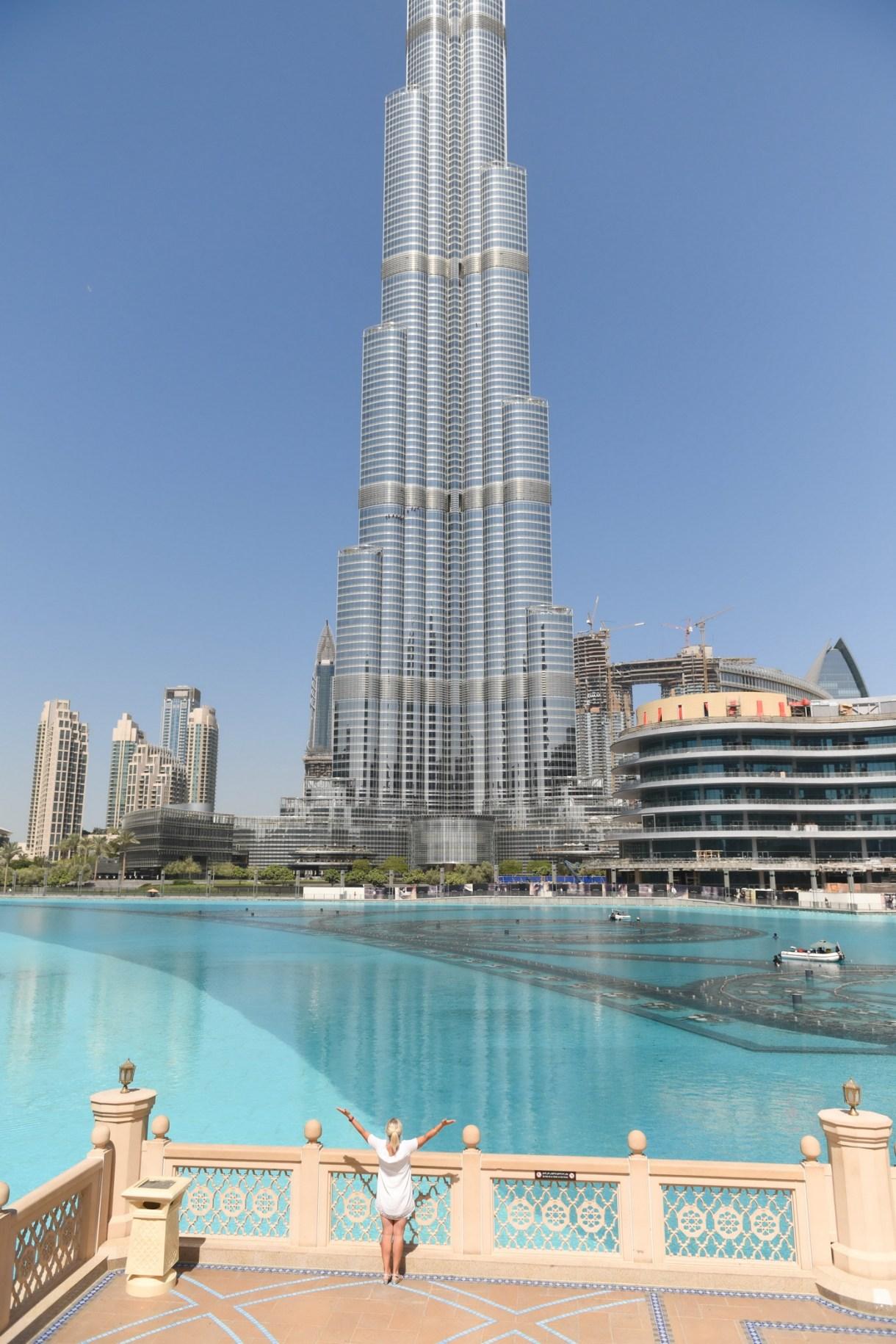 Burj Khalifa view Dubai Photographer
